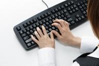 専用端末での顧客データ入力が中心のお仕事です。