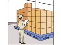 到着した荷物をパレット移す簡単作業!週払い・仮払いOK!