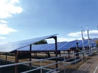 野立て太陽光システムの施工業務