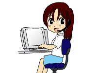 簡単なパソコン操作による輸入たばこの受注、オペレ…
