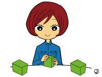【1】小物部品のカンタンな包装
