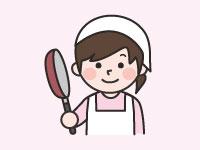 利用者への食事配膳、盛り付け、下膳、洗い物などの…