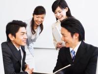 NTTの名刺で活動するので、お客様からの信頼・信用バツグン!