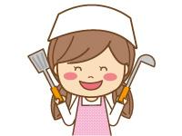 介護施設内での調理補助業務。