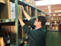 構内作業スタッフ(取扱い品酒類)