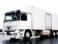 冷凍トラックの塗装業務全般をお願いします。