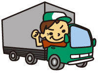 4tトラックでの大手スーパーへの食品ルート配送