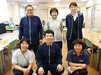 デイサービスセンターでの看護業務および介護業務