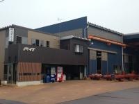 建築鉄骨の溶接業務。