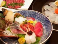 富山の食材を中心にした創作料理を