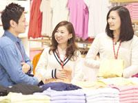 店舗での、接客・レジ・ミシン・商品整理・商品陳列…