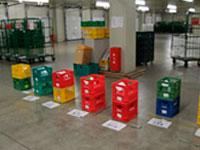 日用品、青果物等の物流センター内での仕分け・検品…
