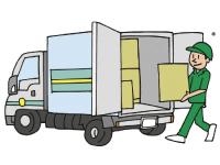 洗濯物の配送や回収業務