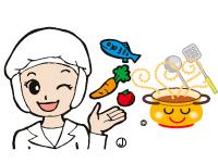 学校給食の調理作業や食器の洗浄、配膳などのお仕事…