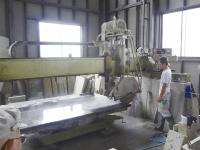 切削加工機オペレーター、大谷石の加工、発送の為の梱…