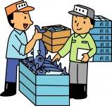 荷物の搬入・搬出及び受注業務、既存顧客へのルート…