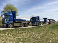 土砂、アスファルト、ガラ・汚染土等の産業廃棄物運搬
