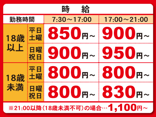 Hotto Motto笠原店の求人情報を見る