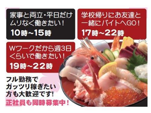 粋鮨イオンモール新小松の求人情報を見る
