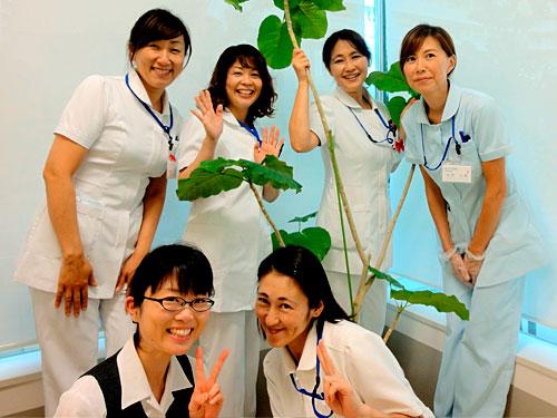 患者さんに笑顔で接することが出来る方大歓迎です。