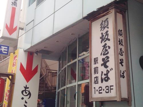 須坂屋そば 新潟駅前店の求人情報を見る
