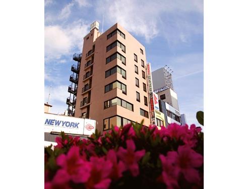 JR甲府駅南口から徒歩2分の好立地のビジネスホテルです!