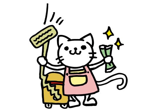 月・木週2日 午前中のお仕事!