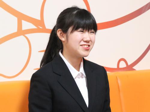 角田さん(19歳/社員 入社3ヶ月目)